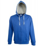 Bluza dresowa S 46900 SOUL MEN 290 - 46900_royalblue_greymelange_S Royal blue / Grey melange