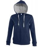 Bluza dresowa Ladies S 47100 SOUL WOMEN - 47100_frenchnavy_greymelange_S French navy / Grey melange