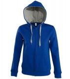 Bluza dresowa Ladies S 47100 SOUL WOMEN - 47100_royalblue_greymelange_S Royal blue / Grey melange