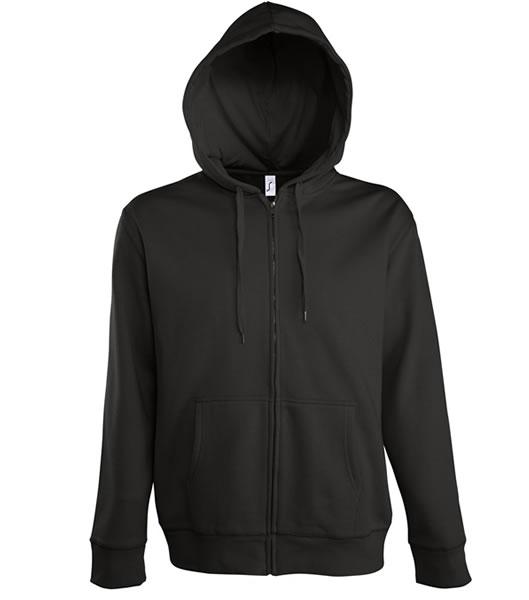 Bluza dresowa S 47800 SEVEN MEN 290 - 47800_black_S - Kolor: Black
