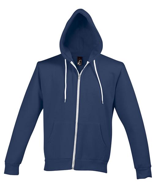 Bluza dresowa Unisex S 47700 SILVER 280 - 47700_abyss_blue_S - Kolor: Abyss blue