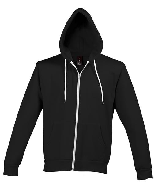 Bluza dresowa Unisex S 47700 SILVER 280 - 47700_black_S - Kolor: Black