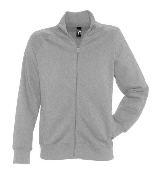 Bluza dresowa  S 47200 SUNDAE 280 - 47200_grey_melange_S - Kolor: Grey melange