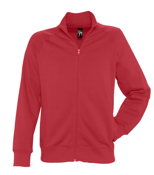 Bluza dresowa  S 47200 SUNDAE 280 - 47200_red_S - Kolor: Red