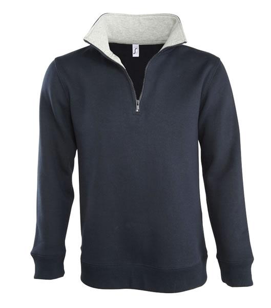 Bluza dresowa S 47300 SCOTT 290 - 47300_frenchnavy_greymelange_S - Kolor: French navy / Grey melange
