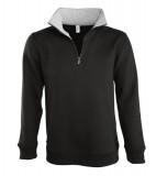 Bluza dresowa S 47300 SCOTT 290 - 47300_black_gremelange_S Black / Grey melange