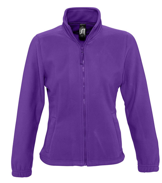 Bluzy polarowe Ladies S 54500 NORTH WOMEN 300 - 54500_dark_purple_S - Kolor: Dark purple