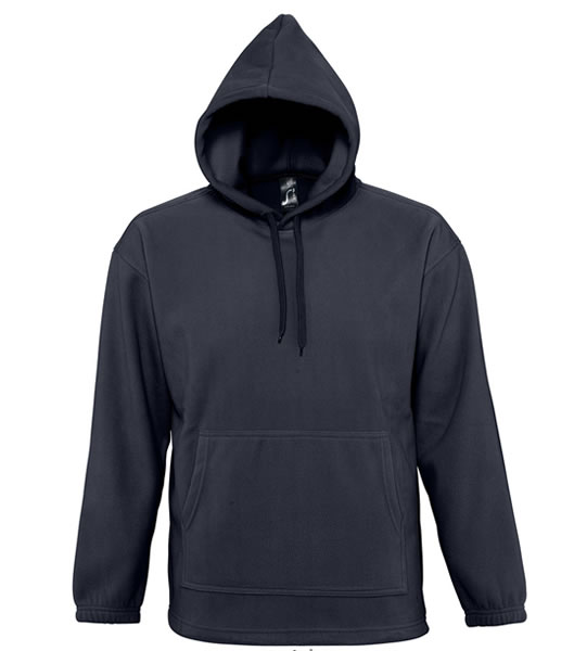 Bluzy polarowe Unisex S 53500 NIRVANA 300 - 53500_navy_S - Kolor: Black