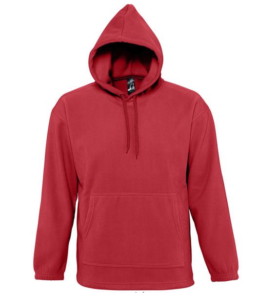 Bluzy polarowe Unisex S 53500 NIRVANA 300 - 53500_red_S - Kolor: Red