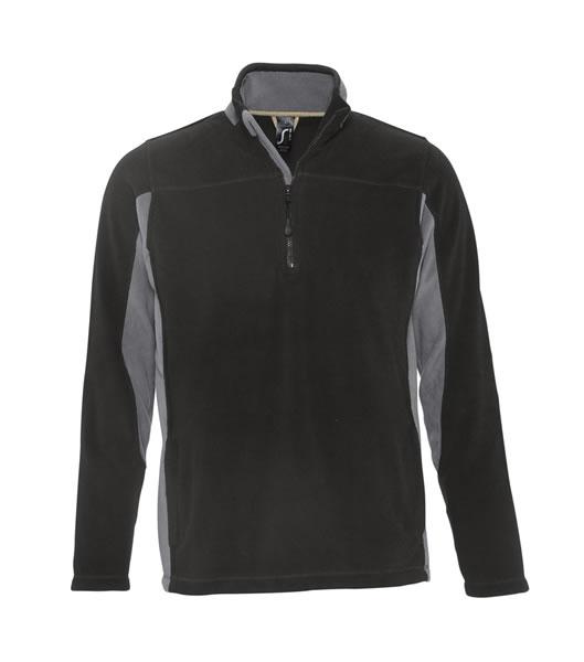 Bluzy polarowe S 56500 NIAGARA 300 - 56500_black_mediumgrey_S - Kolor: Black / Medium grey