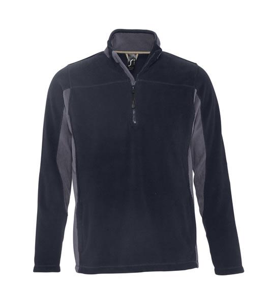 Bluzy polarowe S 56500 NIAGARA 300 - 56500_navy_mediumgrey_S - Kolor: Navy / Medium grey