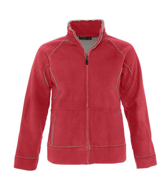 Bluzy polarowe Ladies S 52000 NEO 400 - 52000_red_grey_S - Kolor: Red / Grey