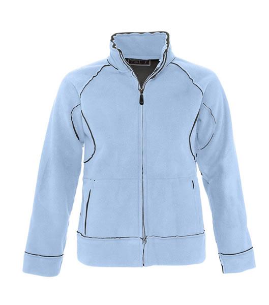 Bluzy polarowe Ladies S 52000 NEO 400 - 52000_skyblue_grey_S - Kolor: Sky blue / Grey