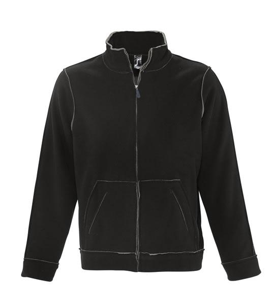 Bluzy polarowe S 53000 NEPTUN 400 - 53000_black_grey_S - Kolor: Black / Grey