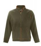 Bluzy polarowe S 53000 NEPTUN 400 - 53000_army_orange_S Army / Orange