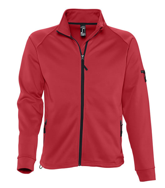 Bluzy polarowe S 52500 NEW LOOK MEN 250 - 52500_red_S - Kolor: Red