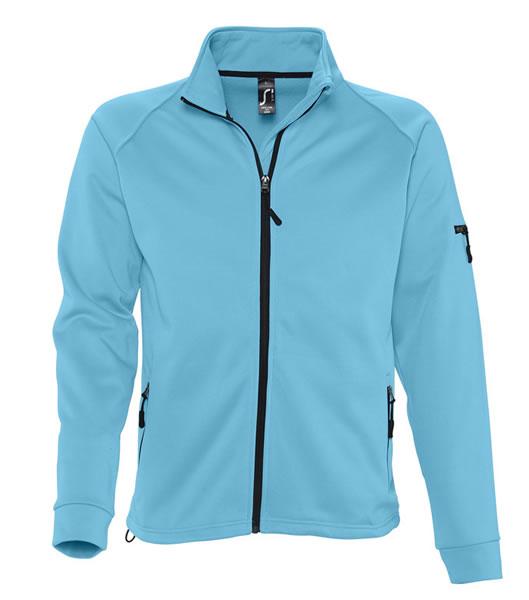 Bluzy polarowe S 52500 NEW LOOK MEN 250 - 52500_turquoise_S - Kolor: Turquoise