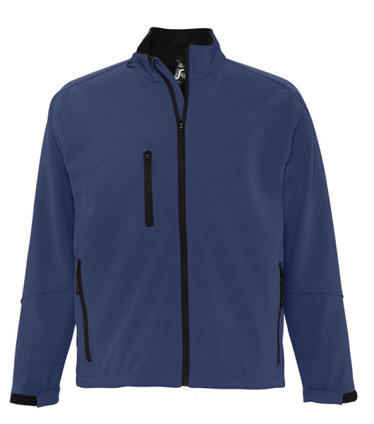 Kurtka Softshell S 46600 RELAX  - 46600_abyss_blue_S - Kolor: Abyss blue