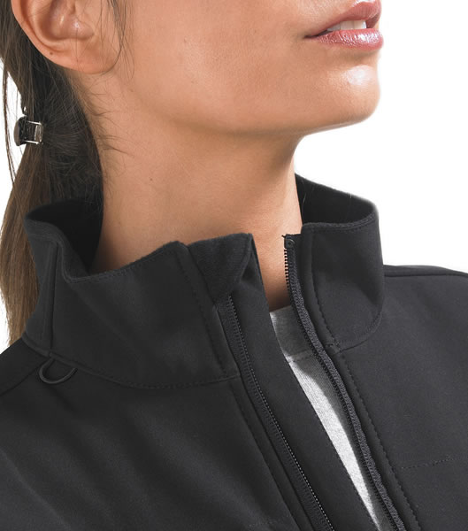 Kurtka Softshell Ladies S 46800 ROXY  - 46800_zoom_S - Kolor: Black