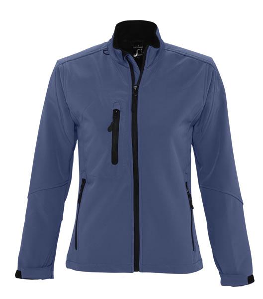 Kurtka Softshell Ladies S 46800 ROXY  - 46800_abyss_blue_S - Kolor: Abyss blue