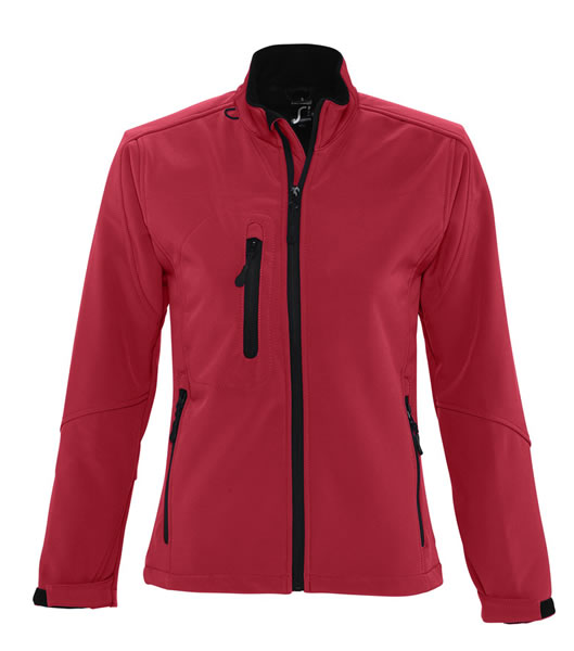 Kurtka Softshell Ladies S 46800 ROXY  - 46800_pepper_red_S - Kolor: Pepper red