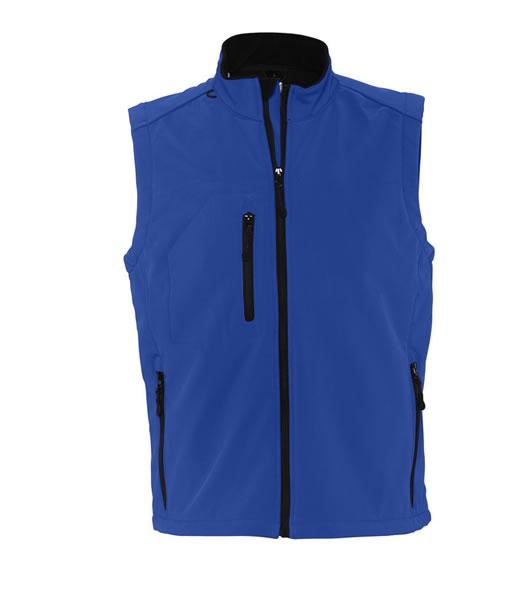 Bezrękawnik softshell S 46601 RALLYE MEN  - 46601_royal_blue_S - Kolor: Royal blue