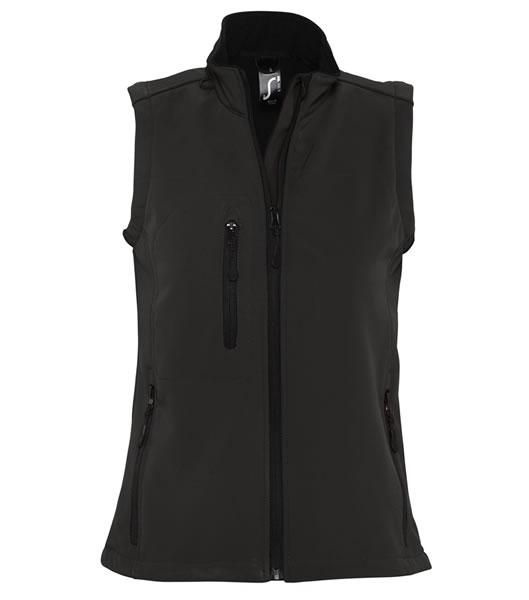 Bezrękawnik softshell Ladies S 46801 RALLYE WOMEN - 46801_black_S - Kolor: Black