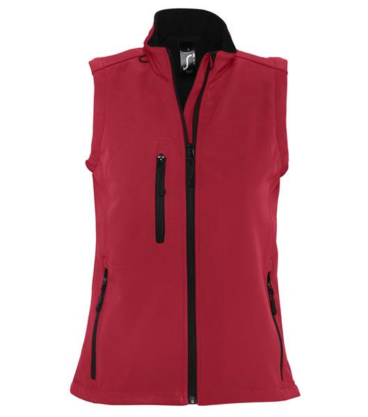 Bezrękawnik softshell Ladies S 46801 RALLYE WOMEN - 46801_pepper_red_S - Kolor: Pepper red