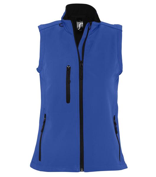 Bezrękawnik softshell Ladies S 46801 RALLYE WOMEN - 46801_royal_blue_S - Kolor: Royal blue