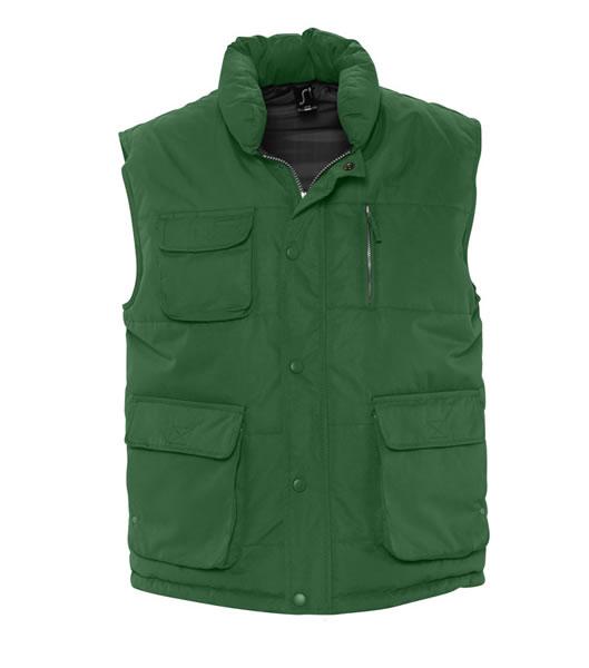 Bezrękawnik S 59000 VIPER - 59000_fir_green_S - Kolor: Fir green