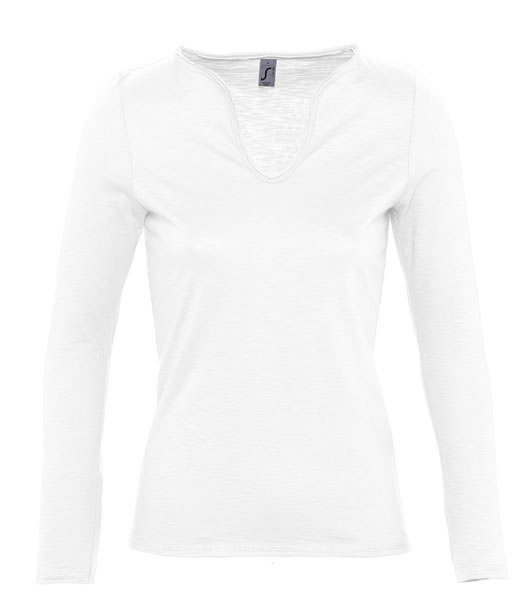 T-shirt Ladies S 11426 MARAIS WOMEN 150 - 11426_white_S - Kolor: White