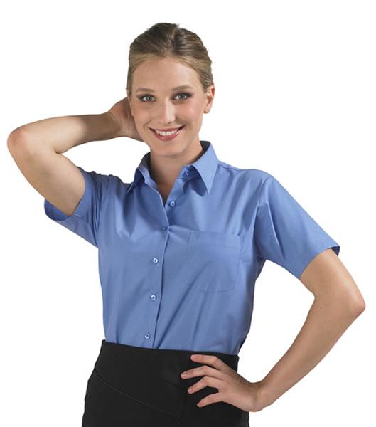 Koszula Ladies S 16070 ESCAPE - 16070_medium_blue_S - Kolor: Medium blue