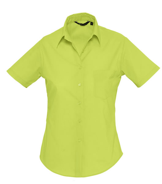 Koszula Ladies S 16070 ESCAPE - 16070_apple_green_S - Kolor: Apple green