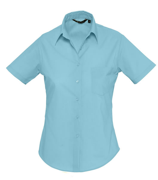 Koszula Ladies S 16070 ESCAPE - 16070_atoll_blue_S - Kolor: Atoll blue