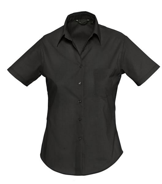 Koszula Ladies S 16070 ESCAPE - 16070_black_S - Kolor: Black