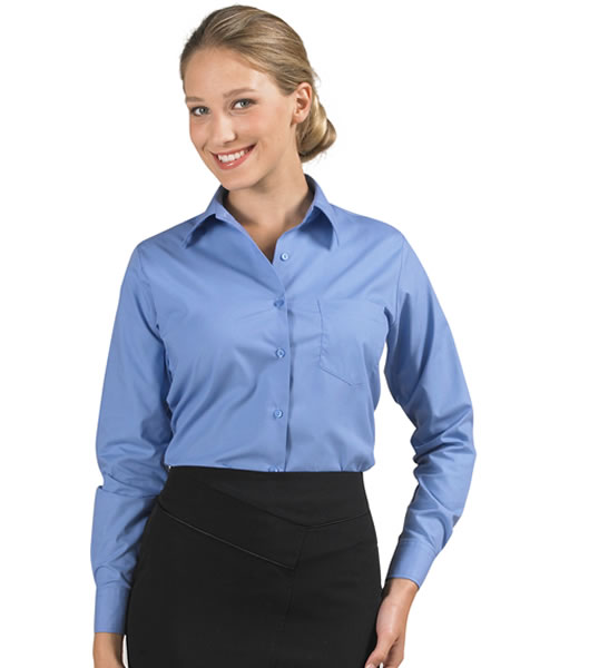 Koszula Ladies S 16060 EXECUTIVE  - 16060_medium_blue_S - Kolor: Medium blue