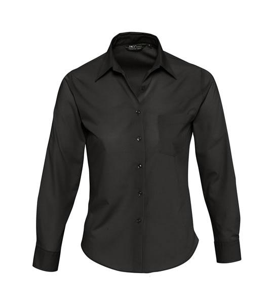 Koszula Ladies S 16060 EXECUTIVE  - 16060_black_S - Kolor: Black