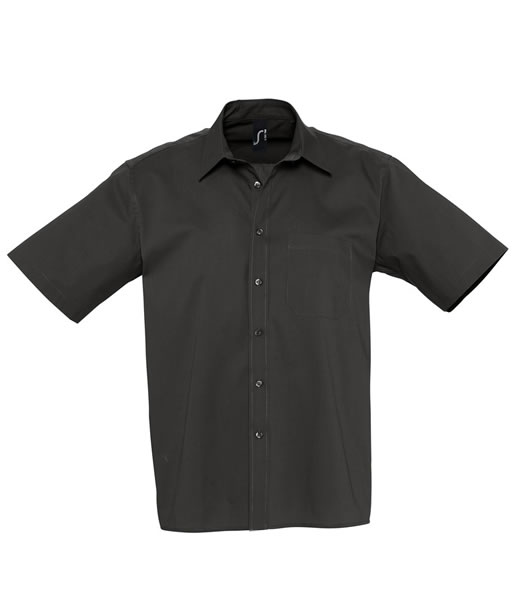 Koszula S 17070 BERKLEY  - 17070_black_S - Kolor: Black