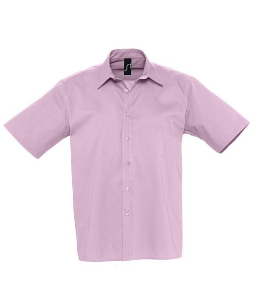 Koszula S 17070 BERKLEY  - 17070_bright_pink_S - Kolor: Bright pink