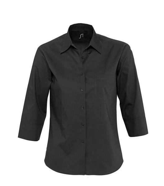 Koszula Ladies S 17050 ETERNITY - 17050_black_S - Kolor: Black
