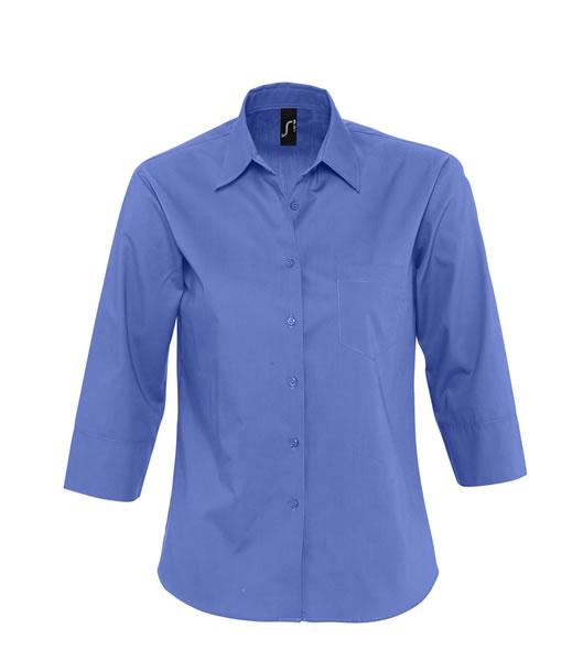Koszula Ladies S 17050 ETERNITY - 17050_cobalt_blue_S - Kolor: Cobalt blue
