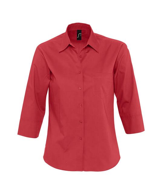 Koszula Ladies S 17050 ETERNITY - 17050_flamenco_red_S - Kolor: Flamenco red