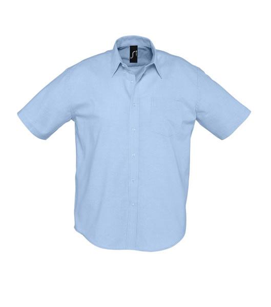 Koszula S 16010 BRISBANE - 16010_sky_blue_S - Kolor: Sky blue
