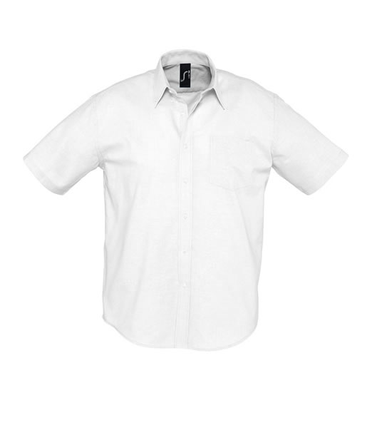 Koszula S 16010 BRISBANE - 16010_white_S - Kolor: White