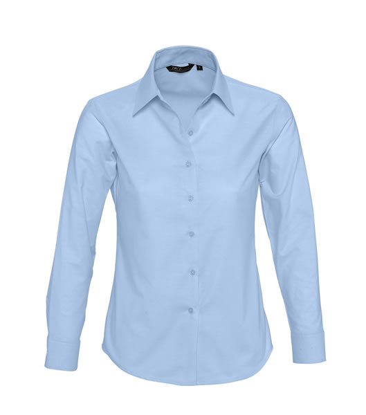Koszula Ladies S 16020 EMBASSY - 16020_sky_blue_S - Kolor: Sky blue