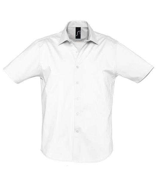Koszula S 17030 BROADWAY - 17030_white_S - Kolor: White
