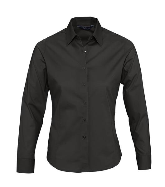 Koszula Ladies S 17015 EDEN - 17015_black_S - Kolor: Black