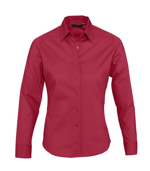 Koszula Ladies S 17015 EDEN - 17015_cardinal_red_S - Kolor: Cardinal red