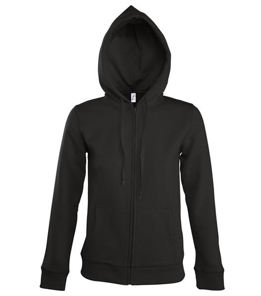 Bluza dresowa Ladies S 47900 SEVEN WOMEN 290 - 47900_black_S - Kolor: Black