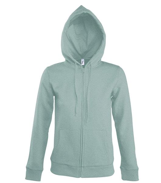 Bluza dresowa Ladies S 47900 SEVEN WOMEN 290 - 47900_grey_melange_S - Kolor: Grey melange